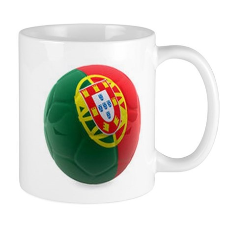 Portugal World Cup Ball Mug