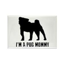 I'm a pug mommy Rectangle Magnet