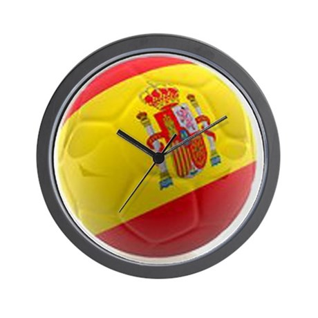 Spain World Cup Ball Wall Clock