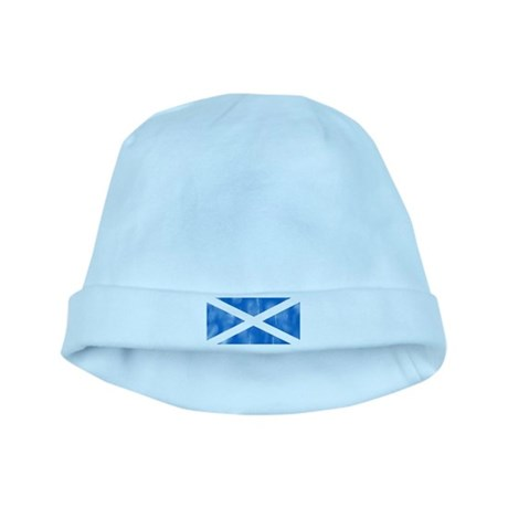 Saint Andrew's Cross baby hat