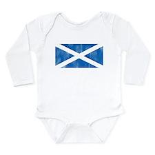 Saint Andrew's Cross Long Sleeve Infant Bodysuit