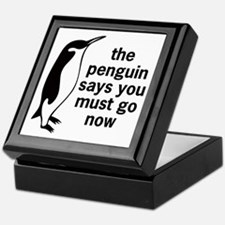 The Penguin Says Keepsake Box