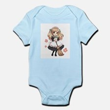 Cute Japanese Anime Maid Infant Bodysuit