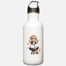 Cute Japanese Anime Maid Water Bottle
