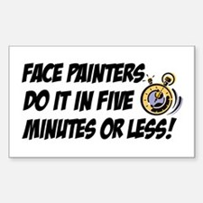 """Face Painters"" Decal"