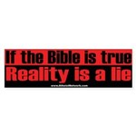 If Bible is true...