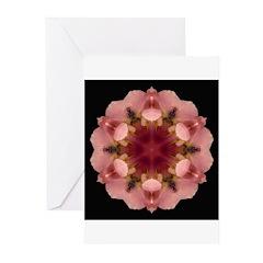 Iris Germanica I Greeting Cards (Pk of 10)