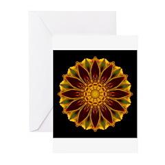 Marigold V Greeting Cards (Pk of 10)