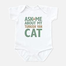 Turkish Van Cat Infant Bodysuit