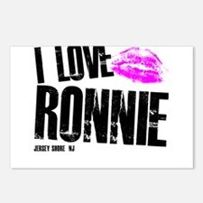 I Love Ronnie Postcards (Package of 8)