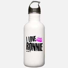 I Love Ronnie Water Bottle