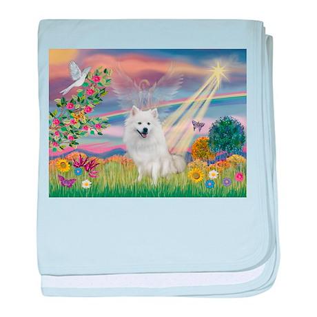 Cloud Angel / Eskimo baby blanket