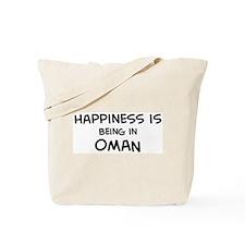 Happiness is Oman Tote Bag