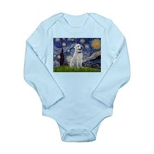 Starry Night & Anatolian Long Sleeve Infant Bodysu