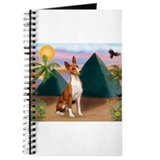 Basenji at the Pyramids Journal