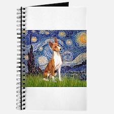 Starry Night & Basenji Journal