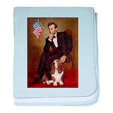 Lincoln & Basset baby blanket
