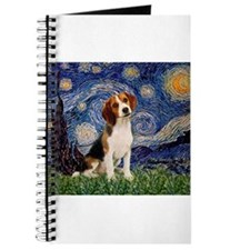 Starry Night & Beagle Pup Journal