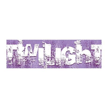 Twilight Purple Dusk 42x14 Wall Peel