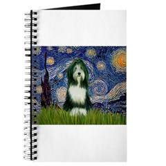 Starry Night & Beardie Journal
