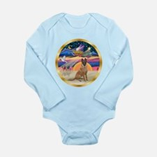 XmasStar/Malanois Long Sleeve Infant Bodysuit