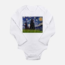 Cute Belgian sheepdog Long Sleeve Infant Bodysuit