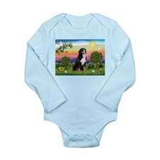 Bright Country & Bernese Long Sleeve Infant Bodysu
