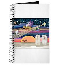 Xmas Star/2 Bichons Journal