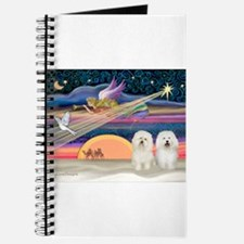 Xmas Star/2 Bichons Journal