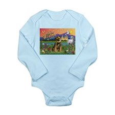 Fantasy Land & Bor Ter Long Sleeve Infant Bodysuit