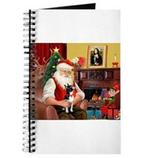 Santa's Boston Terrier Journal