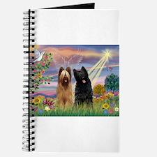 Cloud Angel & Briard Pair Journal
