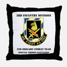 DUI - 2nd BCT - Special Troops Bn with Text Throw