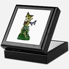 Provencal Butterfly Spring Keepsake Box