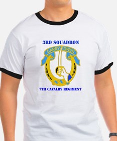DUI - 3rd Sqdrn - 7th Cavalry Regt with Text Ringe