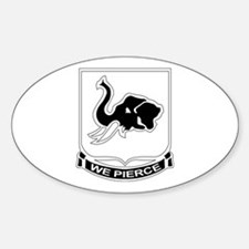 DUI - 1st Bn - 64th Armor Regt Sticker (Oval)