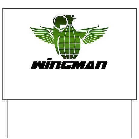 Wingman Yard Sign
