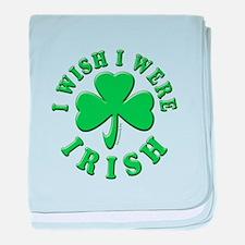 Irish Wish baby blanket