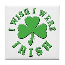Irish Wish Tile Coaster