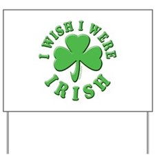 Irish Wish Yard Sign