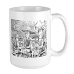 Humorous Political Science Large Mug