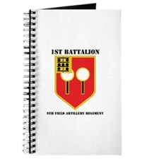 DUI - 1st Bn - 9th FA Regt with Text Journal