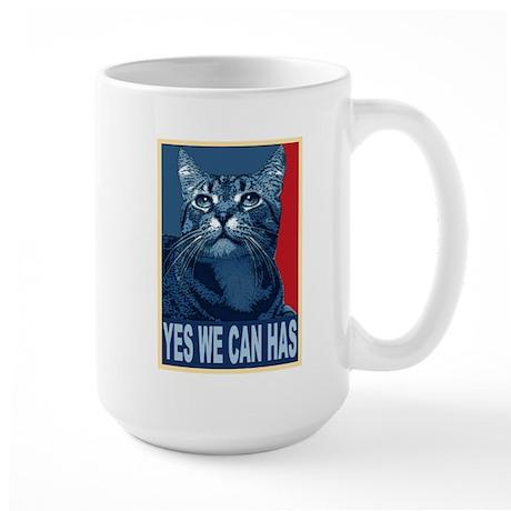 Yes We Can Has Large Mug