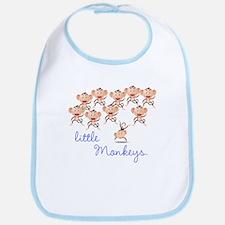 10 Little Monkeys Bib
