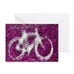 Bicycling Greeting Cards (Pk of 20)