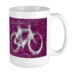Bicycling Large Mug