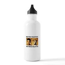 NEUTER THEM ALL Water Bottle