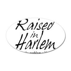 Harlem, new york 22x14 Oval Wall Peel