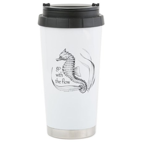 Go with the flow Stainless Steel Travel Mug