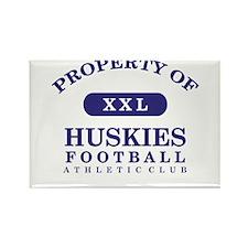 Property of Huskies Rectangle Magnet